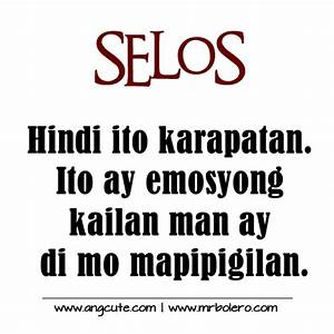 Selos Quotes - Patama Quotes | Tagalog Love Quotes