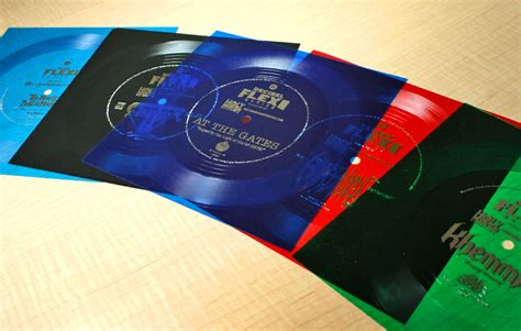 limited offer    bonus flexi discs  decibel decibel magazine
