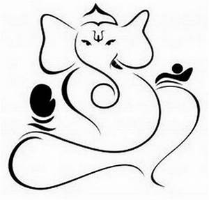 Ganesh Drawing Outline - ClipArt Best