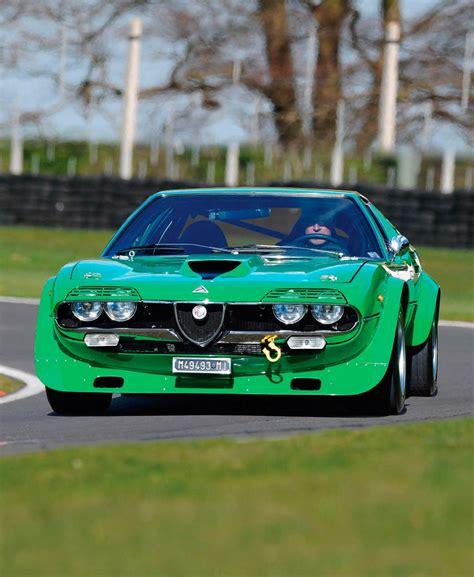 1973 Alfa Romeo Montreal Group 4 Race Car Track Road