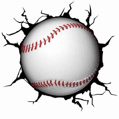 Baseball Ball Clip Clipart Wall Tee 3d