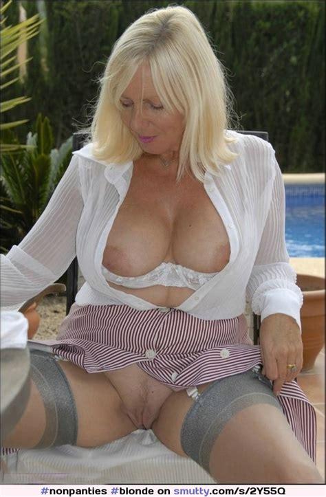 Blonde Milf Mature Cougar Housewife Weddingring
