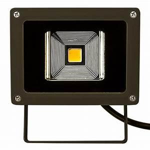 W led flood light fixture greenscape fl