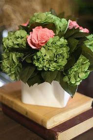 Rose and Hydrangea Arrangement