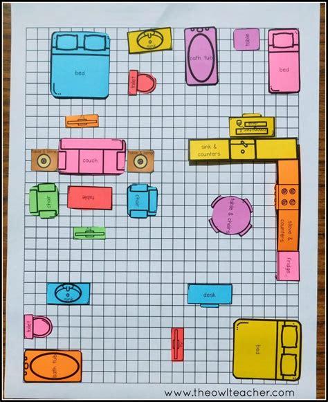 4Th Grade Math Worksheets Perimeter And Area
