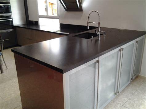 plan de travail cuisine en marbre intérieur granit plan de travail en granit noir
