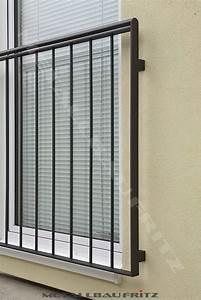 Balkongeländer Pulverbeschichtet Anthrazit : schlosserei metallbau fritz franz sischer balkon 54 04 ~ Michelbontemps.com Haus und Dekorationen