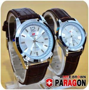 Jam Swiss Army Tengkorak Brown jam tangan