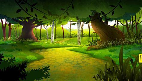animation bg  wacom gallery backgroundforest