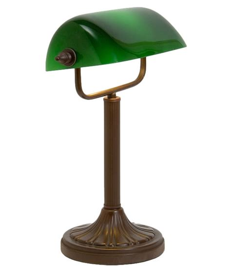 Bankers L Shade Replacement Uk by Bankers L With Green Glass Shade