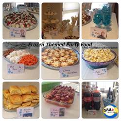 Frozen Themed Party Food Ideas
