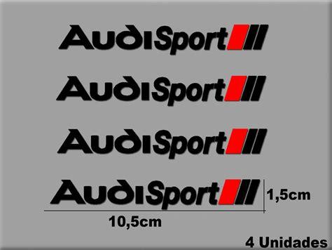 audi sport aufkleber pegatina audi sport r168 sticker decal aufkleber