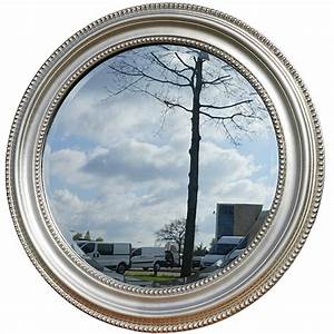 Runder Spiegel Silber : runder spiegel laurens hellsilber usi maison ~ Whattoseeinmadrid.com Haus und Dekorationen