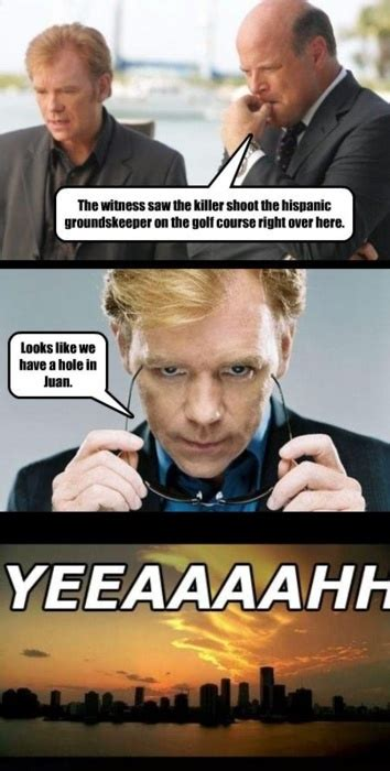 Csi Miami Meme - 26 best images about lines with horatio on pinterest miami miss you and love puns
