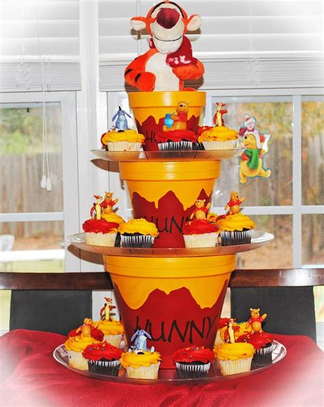 decoration winnie l ourson 25 best ideas about cupcake stands on cupcake display diy cupcake stand and