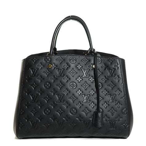 louis vuitton empreinte montaigne gm black wishlist