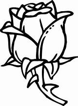 Coloring Pages Rose Roses Olds Cool Rosa Clipartmag Printable Simple Getcolorings Getdrawings Google sketch template
