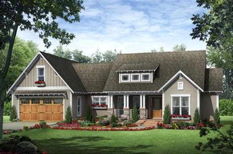 craftsman ranch home   bedrooms  sq ft house plan   theplancollection