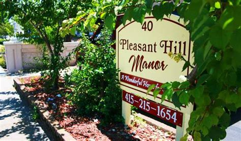 pleasant hill manor retirement assisted living