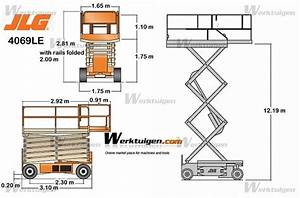 JLG 4069LE - JLG - Machinery Specifications - Machinery