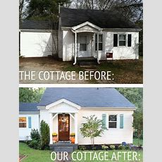Our Cottage Exterior  Before & After  Buffalo, Budgeting