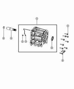 Chrysler 300 Seal  Adapter  Four Wheel Drive  Output Shaft