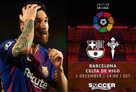 Spanish La Liga Starting XI: FC Barcelona v Celta Vigo 02 ...