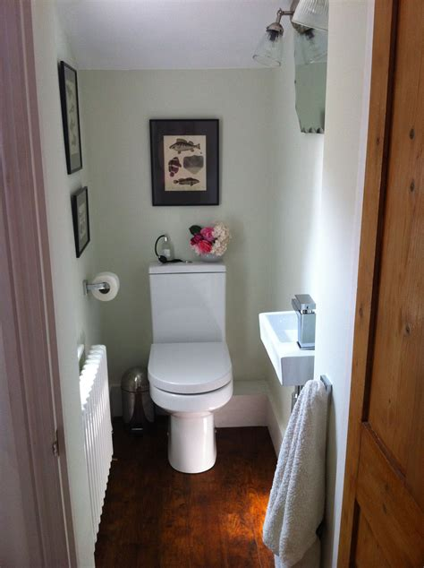 small toilet wc downstairs loo finished