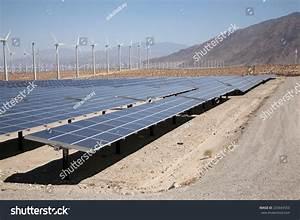 A Genuine Energy Farm In The Hot Arid Desert Of Palm ...