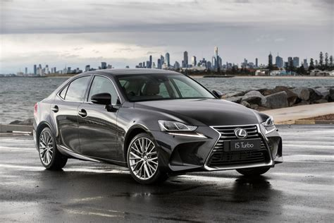 lexus is f sport 2017 black refreshed 2017 lexus is range pricing and specification