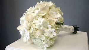 Gardenia, Stephanotis, Rose, Hydrangea Bridal Bouquet ...