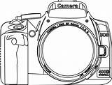 Camera Coloring Clipart Yearbook Clip Kamera Silhouette Shoot Google Colouring Dslr Vector Border Fotografen Line Books Colorear Drawing Simple Camara sketch template