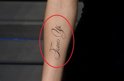 Oscars Emma Watson Sports Time Tattoo