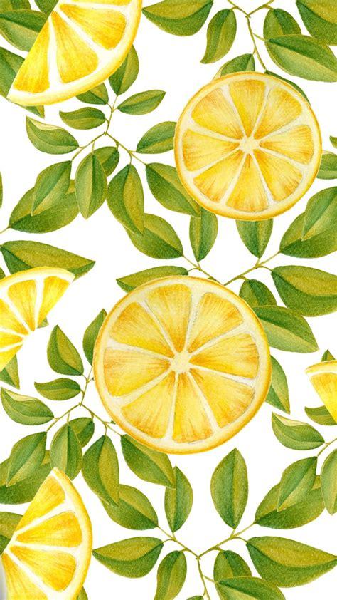 Lemon Wallpaper pin on c o l o r s