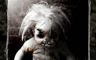 Horror Wallpapers Desktop Hantu Lucu Achtergrond Scary