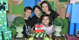 Ator mirim Kaik Brum comemora seu aniversário de 11 anos ...