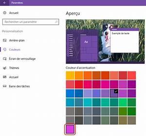 Changer La Couleur Des Fentres Sous Windows 10 Fortimelp