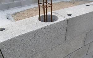 la construction d39une piscine traditionnelle piscine With comment construire sa piscine en parpaing