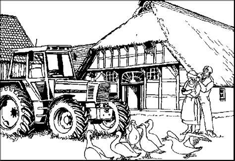 Farm Coloring Pages Coloringpages1001com
