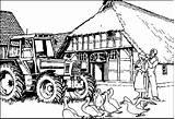Coloring Farm Pages Printable Adult Animal Animals Bestcoloringpagesforkids Kolorowanki Books Coloringpages1001 Tractor Barn Getcoloringpages Read sketch template
