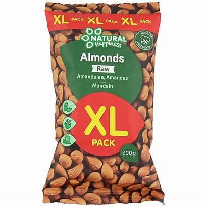 Natural Happiness Mandeln Xl Verpackung Pack Action