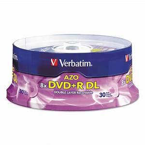 Double Layer Dvd : ver96542 verbatim dual layer dvd r discs zuma ~ Kayakingforconservation.com Haus und Dekorationen