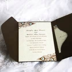 wedding invitations with pictures brown wedding invitations