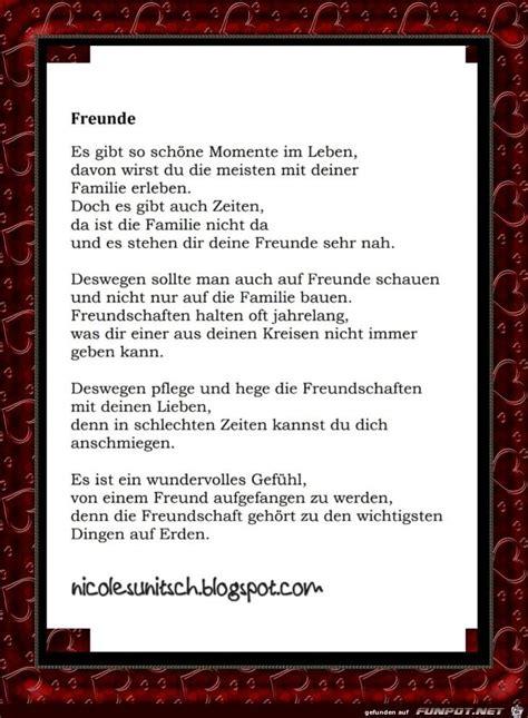 gedicht freunde gedichte und sprueche gedichte