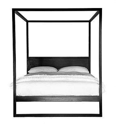 strand  poster bed queen size  images black