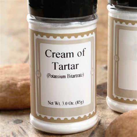 Cream of Tartar   3 oz.