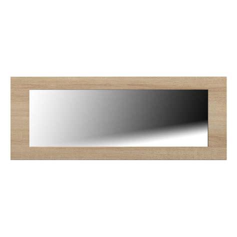 lucena light oak finish wall mirror furniture in fashion uk