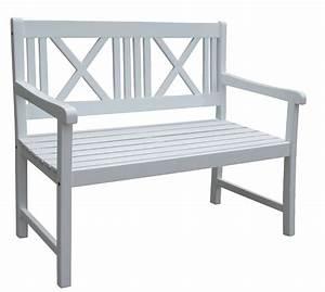 Gartenbank 2 Sitzer Weiß : garden pleasure 965019 gartenbank 39 malm 39 2 sitzer bank aus wei kaufen ~ Bigdaddyawards.com Haus und Dekorationen
