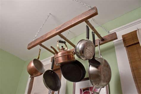 pot rack  easy ideas decorating