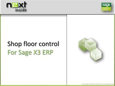 Nextinside Shop Floor Control